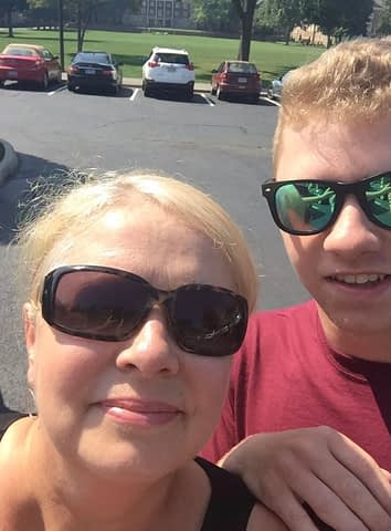 After dorm packing for our youngest Griffin, we travelled to Virginia to drop him off.