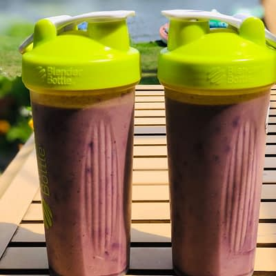 A Nutrient Packed Smoothie Is Part of Our Healthy Morning Routine