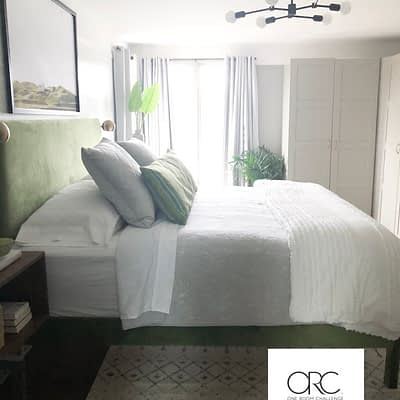 Master Bedroom Reveal for The One Room Challenge Week Six