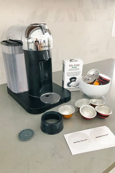 My-Cap - a recyclable option for Nespresso machines
