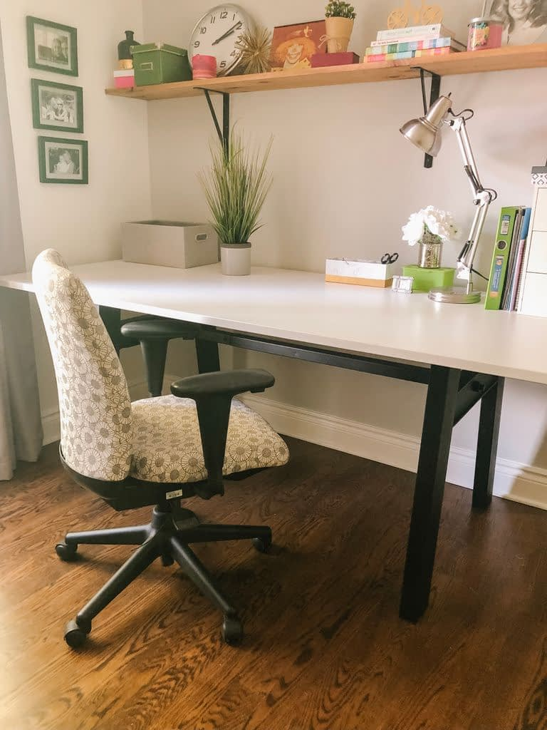 The Haworth Look Chair in my new girly office
