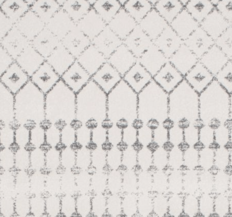 This is the Gray Moroccan Trellis from Rugs USA