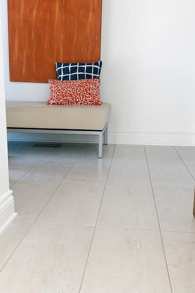New Ceramic Tile Flooring