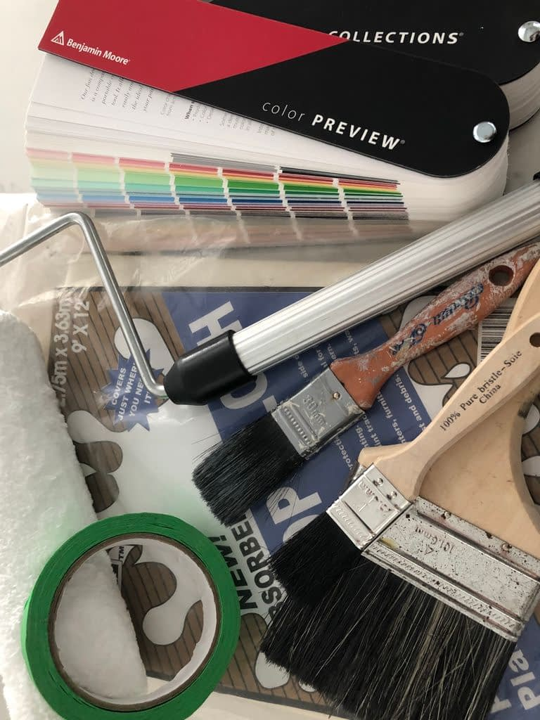 Paint colour is one of your last decisions but one of the first things you do.  That why planning is so important.