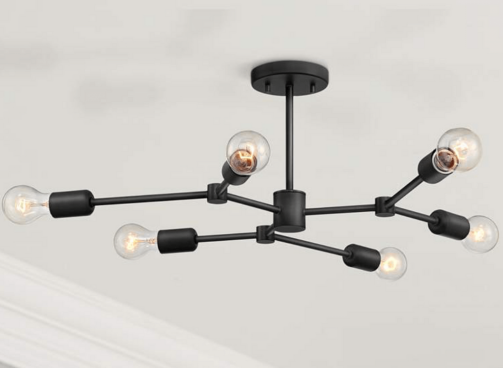 This light from LampsPlus.com is just what I wanted
