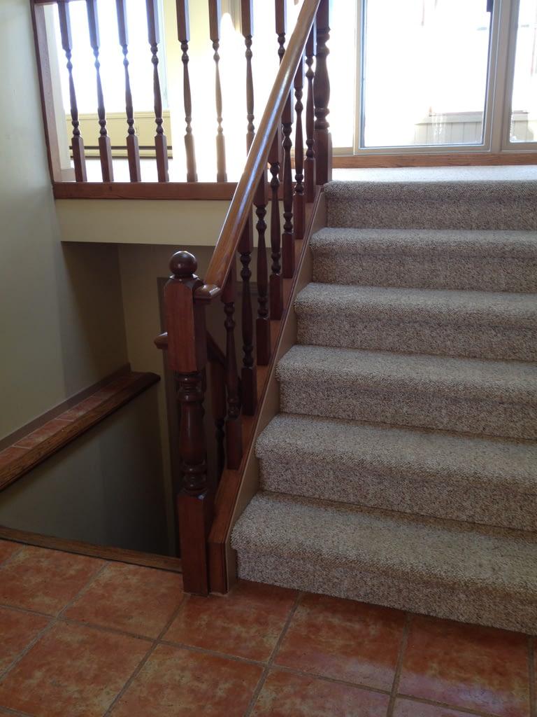This was the original stairway.  Photo Joanne